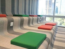 瑜伽房编织地毯