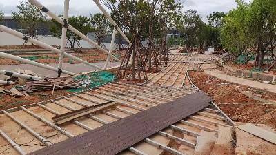 澳大利亚进口原木被扣木地板原材料轻微上浮和腾小编现场报道