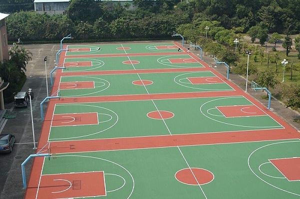 塑胶篮球场建设造价多少钱?