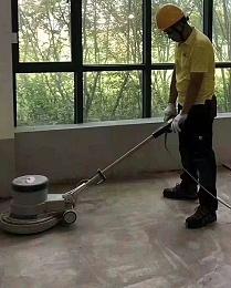 pvc地板施工过程介绍_卷材地板