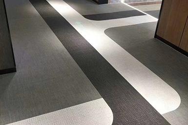办公楼用PVC编织地胶