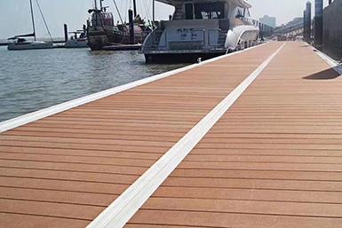 海边木塑地板