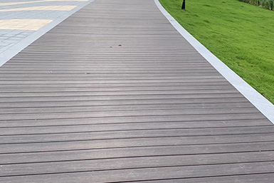 公园木塑地板