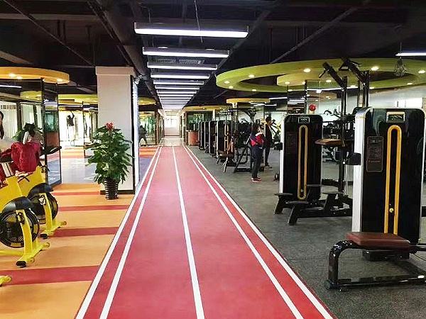 健身房运动地板应用案例