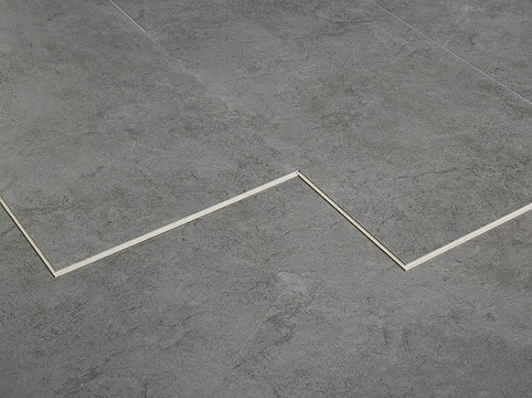 SPC水泥石纹锁扣地板