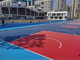 悬浮地板和塑胶地面在篮球场使用哪个会更有优势