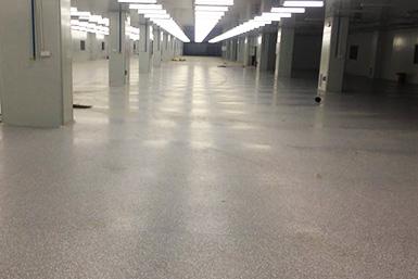 PVC地板应用在工厂
