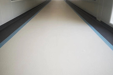 PVC地板应用在车间