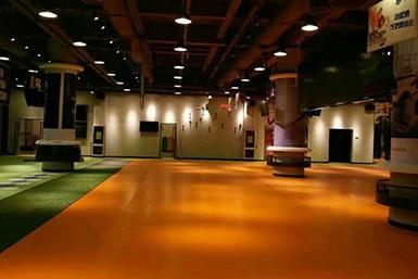PVC地板应用在商场