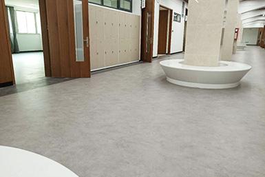 PVC地板应用在学校